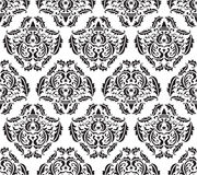 Seamless baroque pattern Stock Image