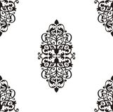 Seamless Baroque pattern Stock Photography