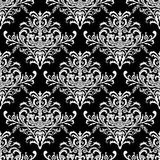 Seamless baroque pattern, vector illustration Royalty Free Stock Photo
