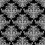 Seamless Baroque Pattern, Vector Illustration Royalty Free Stock Photo
