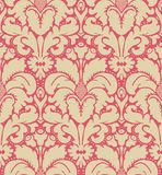 Seamless baroque style background Stock Images