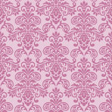 Seamless baroque style damask background Royalty Free Stock Images