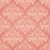 Seamless baroque style damask background Stock Photography