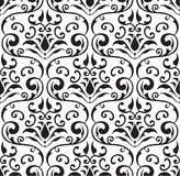 Seamless baroque tracery Stock Image