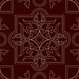 Seamless base model pattern element Royalty Free Stock Photo