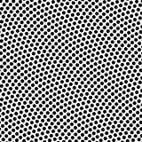 Seamless basketball texture with bumps. Seamless black and white basketball texture with bumps Royalty Free Stock Photos