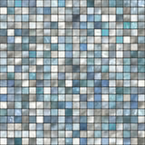 Seamless bath tiles Royalty Free Stock Photos