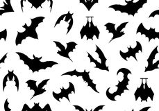 Seamless bats background Stock Photography