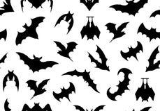 Seamless bats background Stock Photography