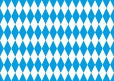 Seamless bavarian flag vector background Royalty Free Stock Photography