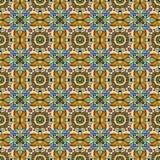Seamless beautiful antique art deco pattern ornament. Geometric Royalty Free Stock Photos