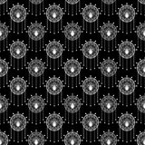 Seamless beautiful antique art deco pattern ornament Stock Image