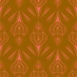 Seamless beautiful antique pattern ornament. Royalty Free Stock Photo