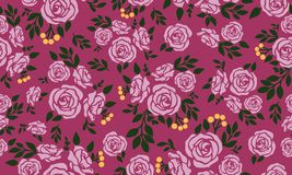 Free Seamless Beautiful Floral Pattern, Green Leafy Flower Royalty Free Stock Photo - 165178415