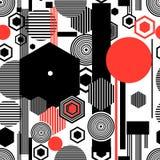 Seamless beautiful geometric pattern Royalty Free Stock Image