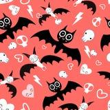 Seamless beautiful pattern bats Royalty Free Stock Photo