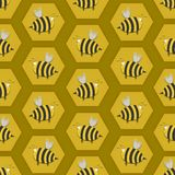 Seamless Beehive Stock Images