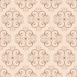Seamless beige background. Vector illustration of seamless beige background Royalty Free Stock Photo