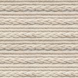 Seamless Knitwear Fabric Texture. Seamless Beige Knitwear Fabric Texture with Pigtails. Repeating Machine Knitting Texture of Sweater. Beige Knitted Background stock images
