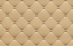 Seamless beige leather upholstery pattern Royalty Free Stock Photo
