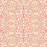 Seamless beige pattern. Seamless Abstract beige and pink pattern Royalty Free Stock Photography