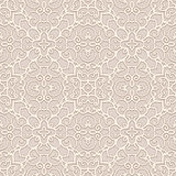 Seamless beige pattern Stock Images