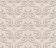 Seamless beige pattern Stock Photo