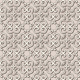 Seamless beige pattern Stock Image