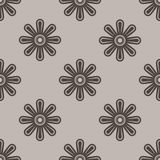 Seamless beige wallpaper Stock Photo