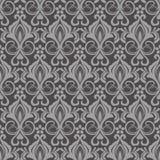Seamless beige wallpaper pattern. Royalty Free Stock Photo