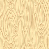 Seamless beige wooden texture. Vector illustration. Royalty Free Stock Image