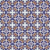 Seamless belägga med tegel mönstrar Arkivbild