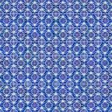 Seamless belägga med tegel mönstrar Royaltyfria Bilder