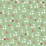 Seamless berry wallpaper Royalty Free Stock Photography