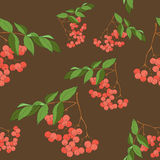 Seamless berry wallpaper Stock Photo