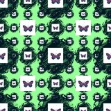 Seamless Beutiful butterfly Pattern Best for Decorative, Wallpaper, Greeting Card, Background , Design