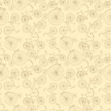 Seamless bicycle background Royalty Free Stock Image