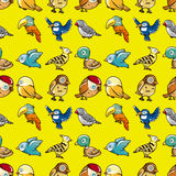 Seamless bird pattern Royalty Free Stock Photography