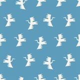 Seamless bird pattern Royalty Free Stock Photography