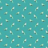 Seamless bird pattern. Stock Photography