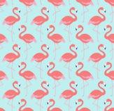 Seamless birds fabric background pattern Royalty Free Stock Photos