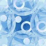 seamless blå modell Stock Illustrationer