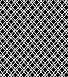 Seamless Black And White Geometric Netting Pattern Grating Background Royalty Free Stock Images