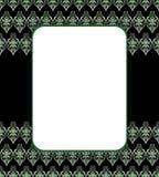 Seamless black banner. Seamlessblack black banner. Vector illustration Stock Photo