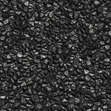 Seamless black coal background Stock Photo