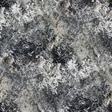 Seamless black gray texture of old stone wall with Stock Image