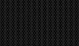 Seamless Black Honeycomb Background Royalty Free Stock Images