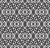 Seamless Black Lace Royalty Free Stock Image