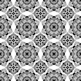 Seamless black lace Royalty Free Stock Images