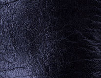 Seamless black leather texture Royalty Free Stock Image